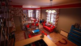 Mountain Road Hostel - Almatý - Sala de estar