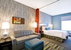 Home2 Suites by Hilton Evansville - Evansville - Bedroom