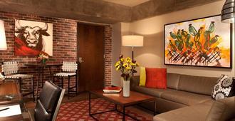 Hotel Contessa - Suites on the Riverwalk - סן אנטוניו - סלון