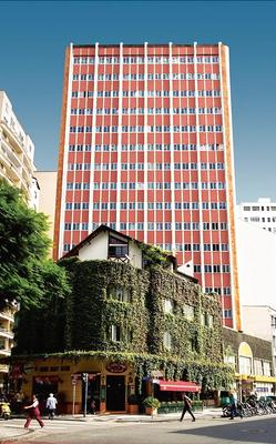 Hotel Tibagi - Curitiba - Rakennus