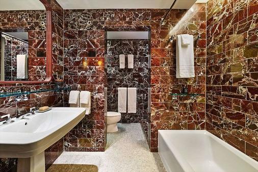 紐約蘇荷六十號酒店 - 紐約 - 紐約 - 浴室