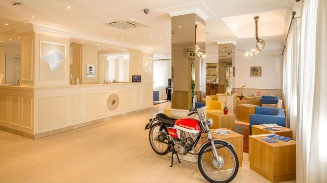 貝斯特韋斯特格羅布斯酒店 - 羅馬 - 羅馬 - 櫃檯