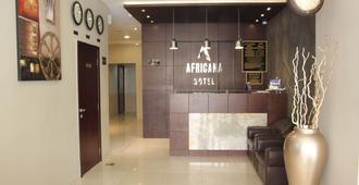 Africana Hotel - Dubai - Front desk