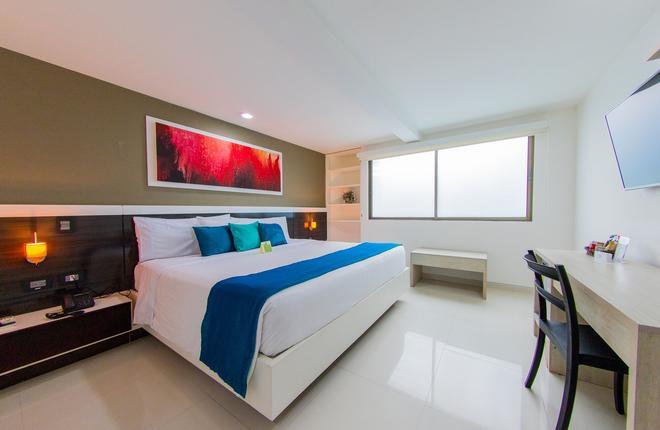 瓦拉納西精品酒店 - 喀他基那 - 卡塔赫納 - 臥室