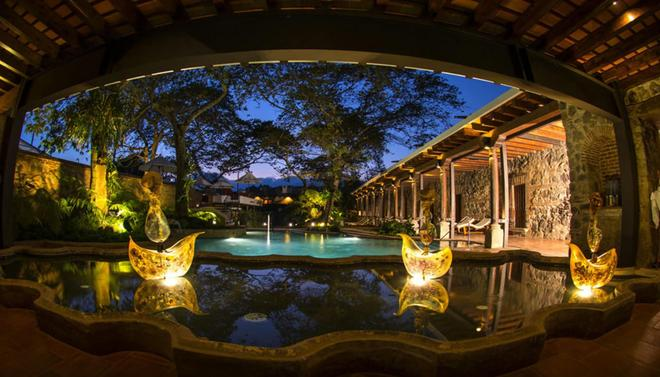 Hotel Museo Spa Casa Santo Domingo - Antigua - Pool