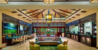 The Westin Princeville Ocean Resort Villas - Princeville - Lounge