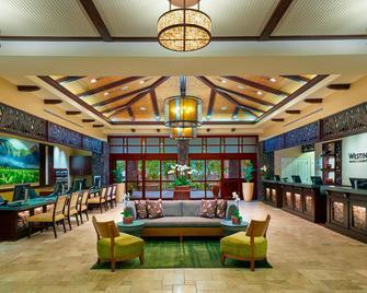 The Westin Princeville Ocean Resort Villas - Princeville - Лаунж