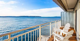 The Edgewater - A Noble House Hotel - Seattle - Balkon