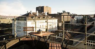 101 hotel - Reikiavik - Balcón