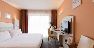 貝斯特韋斯特阿斯托利亞酒店 - 昂蒂布 - 安提伯 - 臥室