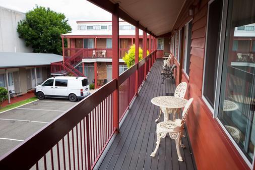 Downs Motel - Toowoomba - Balkon
