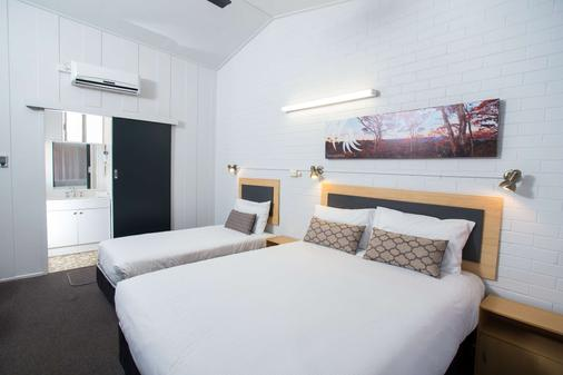 Downs Motel - Toowoomba - Schlafzimmer