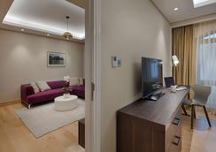 謝伍德套房酒店 - 胡志明市 - 客廳