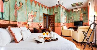 Hotel El Jardín de la Abadía - ואיאדוליד - חדר שינה