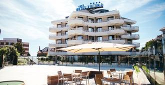 Gran Hotel Victoria - Thành phố Santander - Toà nhà