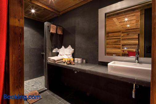 Hostellerie Du Pas De L'ours Relais Et Chateaux - Crans-Montana - Bathroom