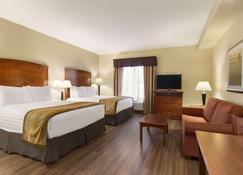 Days Inn & Suites by Wyndham Sherwood Park Edmonton - Sherwood Park - Bedroom