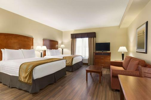 Days Inn & Suites by Wyndham Sherwood Park Edmonton - Sherwood Park - Schlafzimmer
