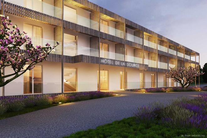 Hotel de la Source - Yverdon-les-Bains - Building