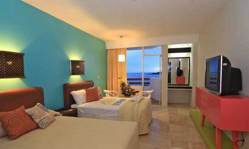 Oceano Palace Beach Hotel - Mazatlán - Bedroom