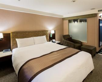 Grand Forward Hotel - Banqiao District - Bedroom