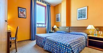 كولومبوس سي هوتل - جنوة - غرفة نوم