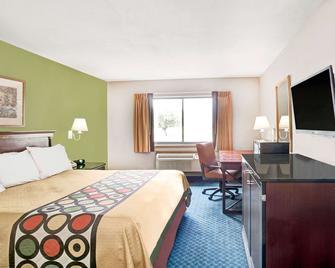 西孟菲斯速 8 酒店 - 西孟斐斯 - 西孟菲斯 - 臥室
