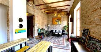 Eco Hostel - Granada - Sala de estar