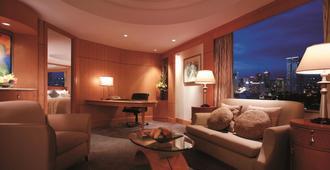 麥卡蒂香格里拉酒店 - 馬卡蒂 - 客廳