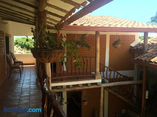 Casa Aparicio Lopez - Barichara - Balcony