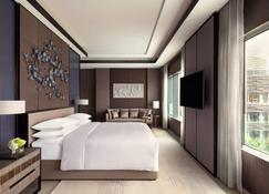 هونج كونج أوشن بارك ماريوت هوتل - Hong Kong - غرفة نوم