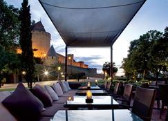 Hotel du Chateau - Carcassonne - Innenhof