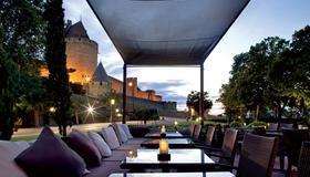 Hotel Du Chateau - Carcassonne - Patio
