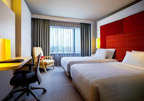 Grand Mercure Jakarta Harmoni 3 813 5 4 0 8 Jakarta Hotel Deals Reviews Kayak