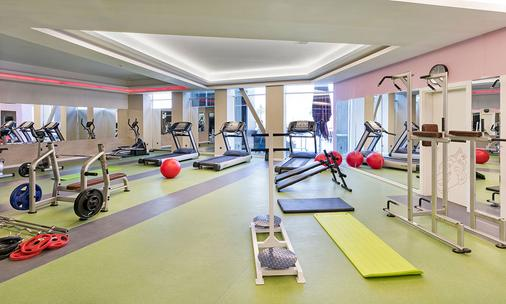 Grannos Thermal Hotel & Convention Center - Haymana - Fitnessbereich