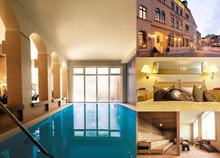 Hotel Steiger Sebnitzer Hof - Adults Only - Lichtenhain - Piscina