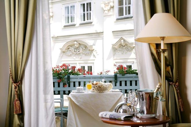 Art Nouveau Palace Hotel - Prag - Balkon