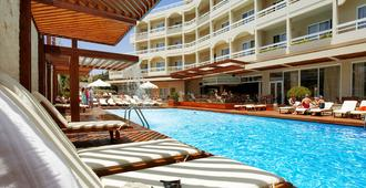 Athineon Hotel - Rodes - Piscina