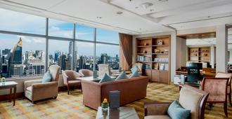 曼谷洲際酒店 - 曼谷 - 客廳