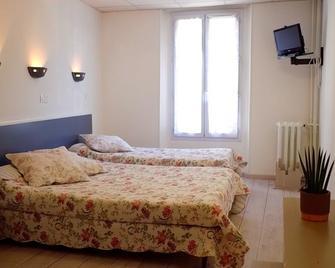 Hôstellerie de l'Aiglon - Digne-les-Bains - Schlafzimmer