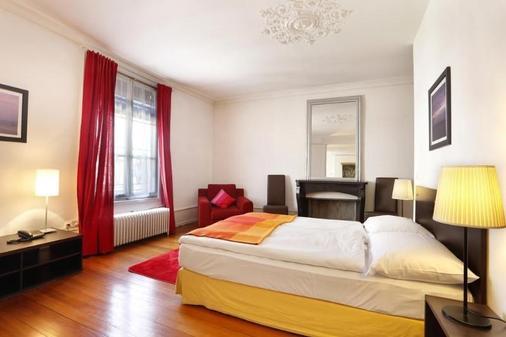日內瓦托爾酒店 - 日內瓦 - 日內瓦 - 臥室