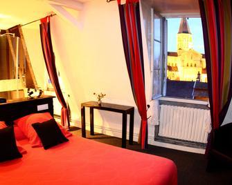 Grand Hotel de la Basilique - Paray-le-Monial - Bedroom