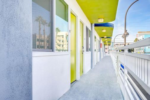 Downtowner Motel - Las Vegas - Parveke