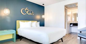 Downtowner Boutique Hotel - לאס וגאס - חדר שינה