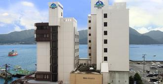 Miyajima Coral Hotel - האטסוקאישי - בניין