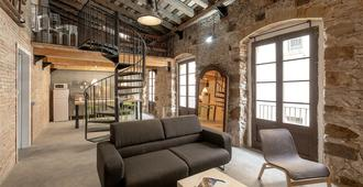 As Sant Domenec Pool&bike - Gerona - Sala de estar