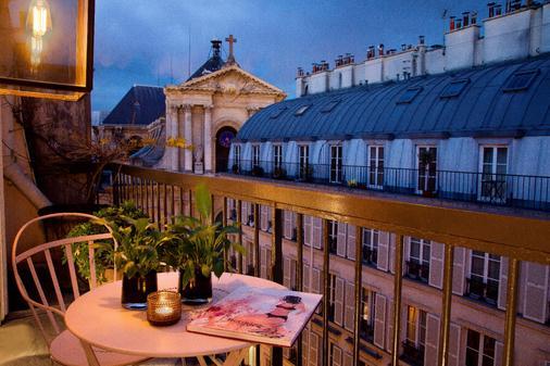 Le Pradey - Pariisi - Parveke