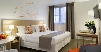 馨樂庭里昂普萊斯吉樂酒店 - 里昂 - 里昂 - 臥室
