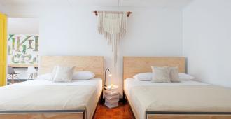 Capital Hostel de Ciudad - San José - Bedroom