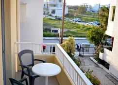 Manias Apartments - Miasto Kos - Balkon